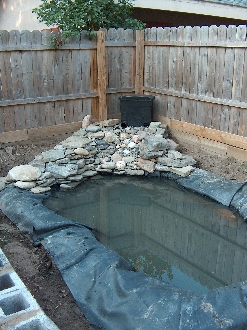 Diy pond flexible epmd liner free form pond for 90 gallon pond liner