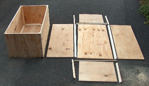 Diy Plywood Tanks Amp Nesting Box